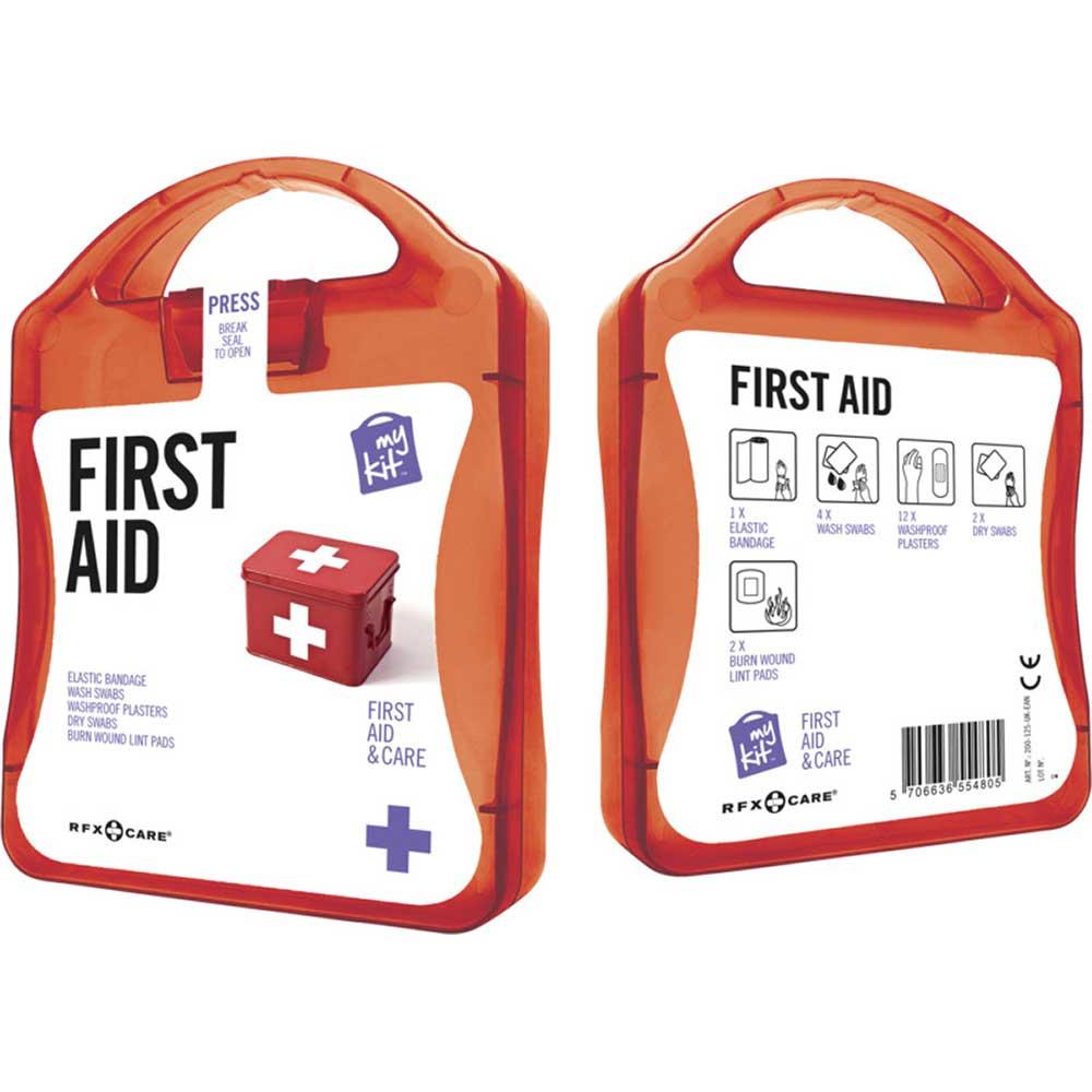 My Kit First Aid röd