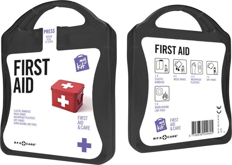 My Kit First Aid svart