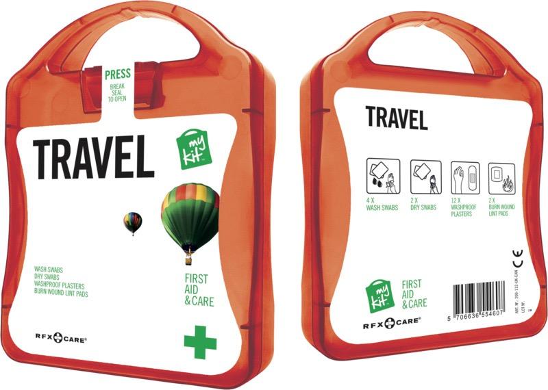 My Kit Travel röd