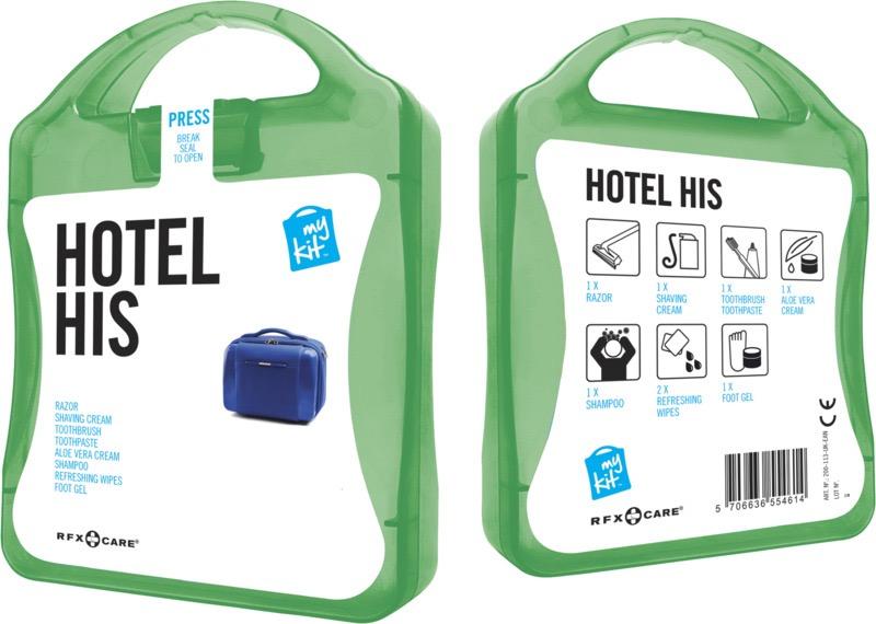 My Kit Hotel His grön