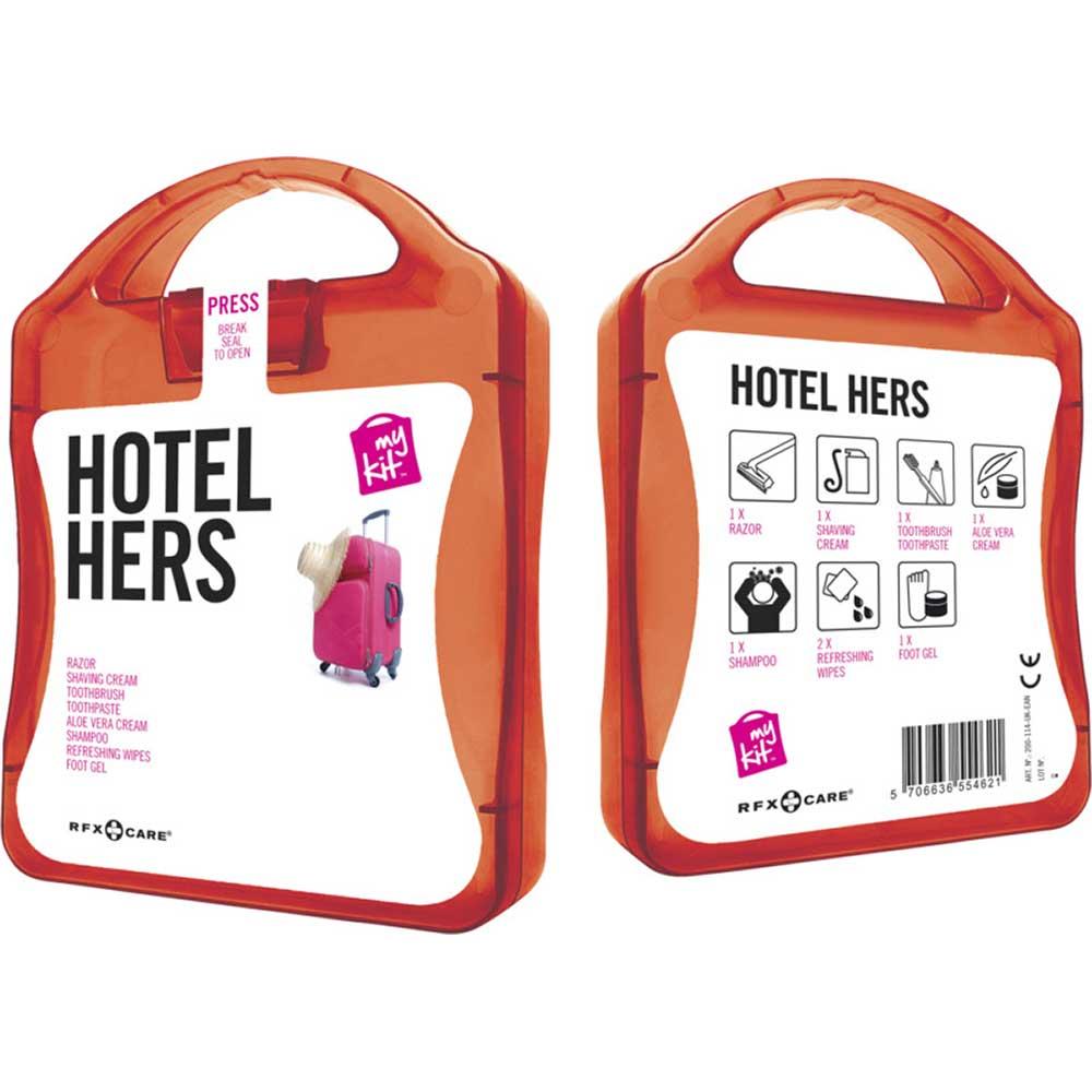 My Kit Hotel Hers röd