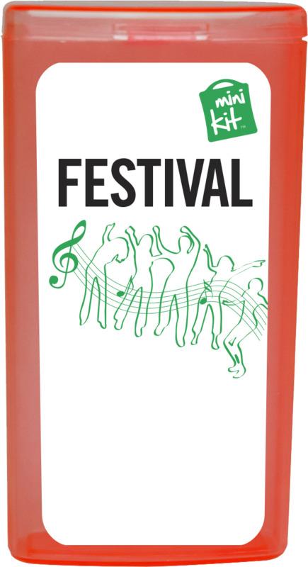 Mini Kit Festival röd