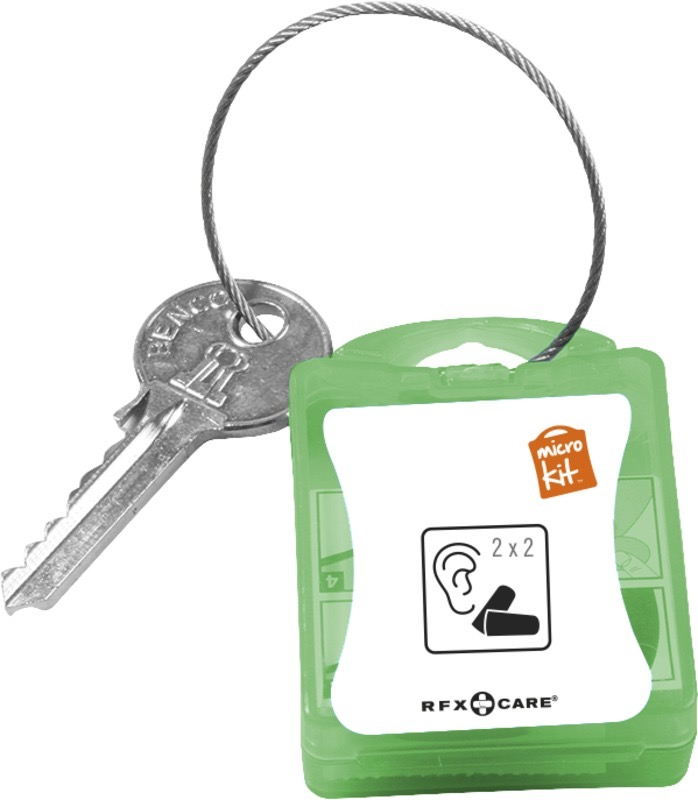 Micro Kit Earplugs grön