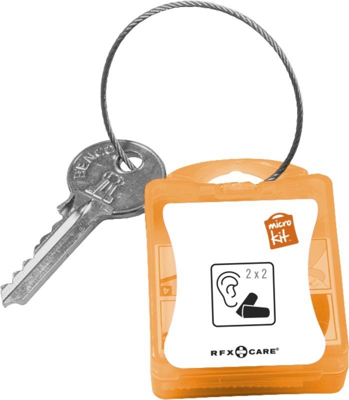 Micro Kit Earplugs orange