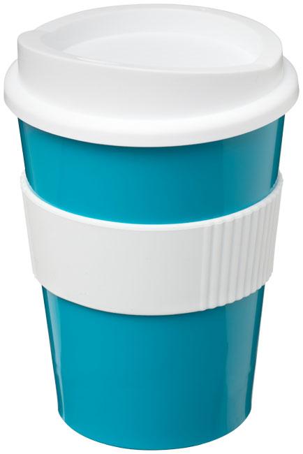Mugg Americano® Medio Aquablå, Vit