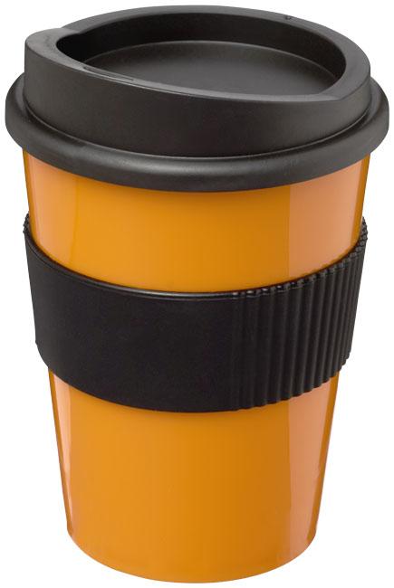 Mugg Americano® Medio Orange, Svart