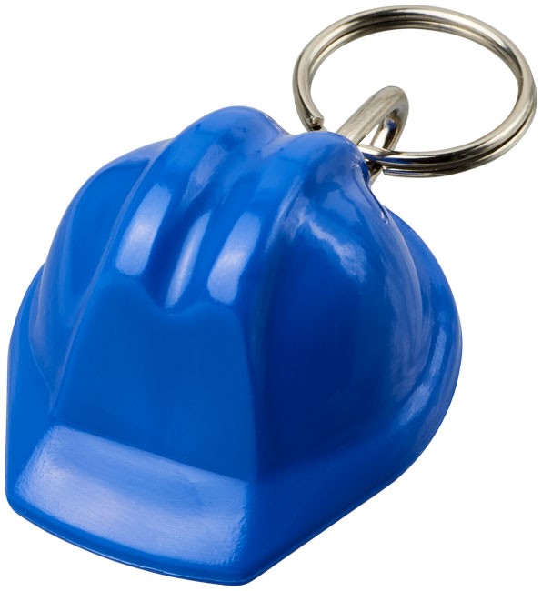 Kolt Hjälmformad Nyckelring blå