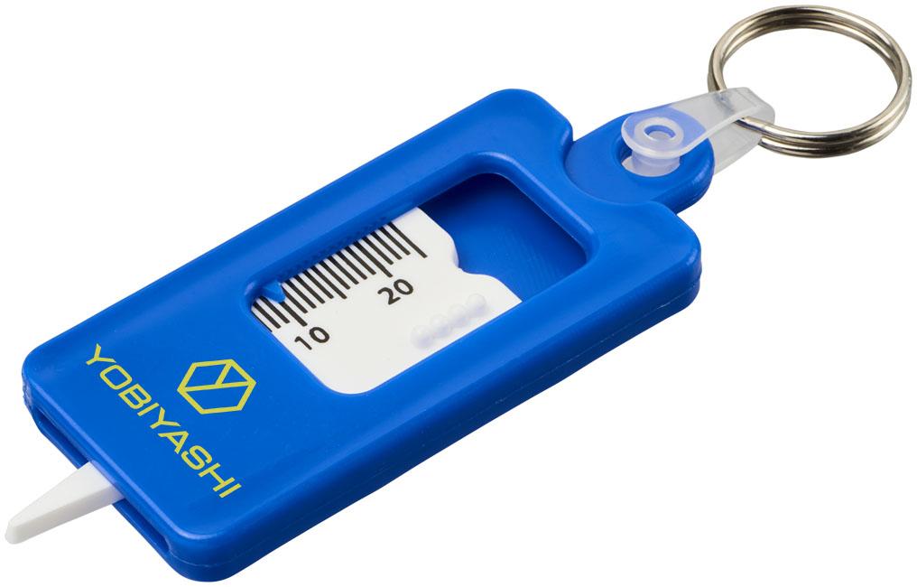 Kym nyckelring Blå