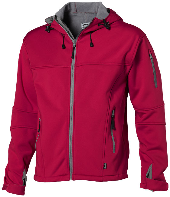 Soft Shell Jacket röd