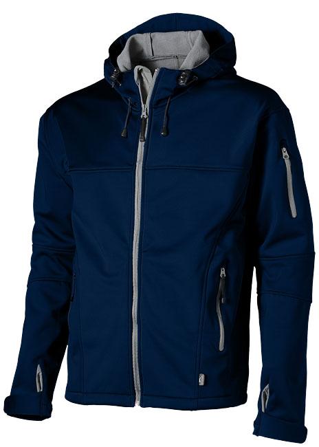 Soft Shell Jacket marinblå