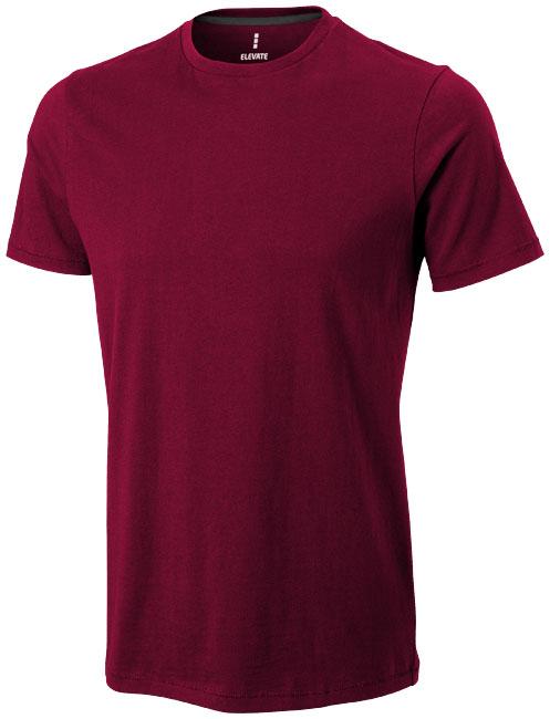 Nanaimo Mens T-Shirt  Vinröd