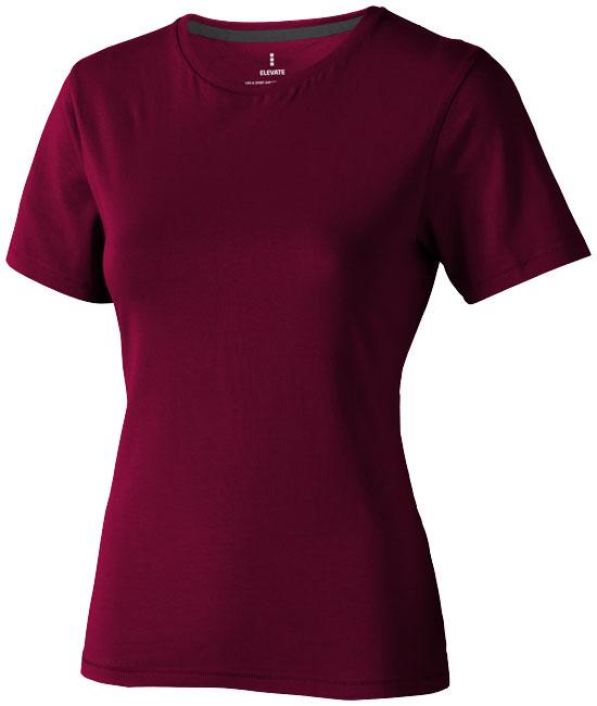 Nanaimo Ladies T-Shirt Vinröd