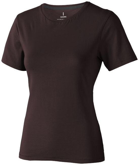 Nanaimo Ladies T-Shirt Chokladbrun