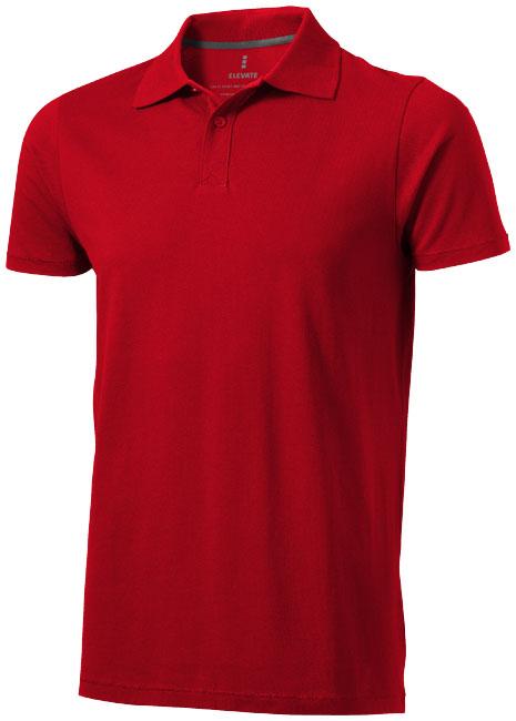 Seller Polo Elevate röd
