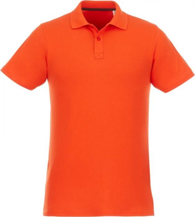Helios kortärmad polo Herr Orange