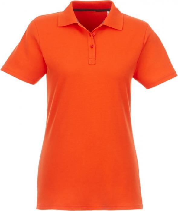 Helios kortärmad polo Dam Orange