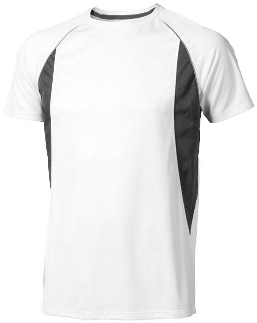Quebec Coolfit T-shirt vit,antracit