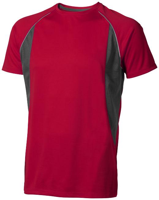 Quebec Coolfit T-shirt röd,antracit
