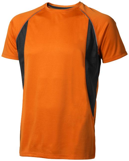 Quebec Coolfit T-shirt orange,antracit