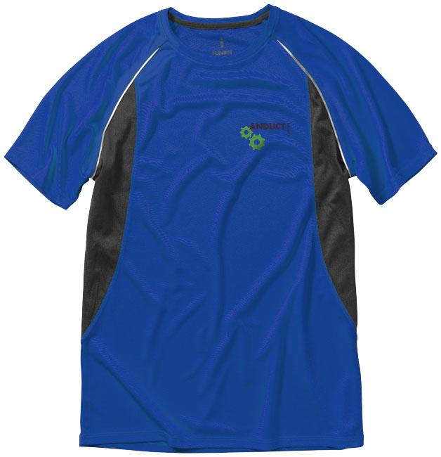 Quebec Coolfit T-shirt blå,antracit