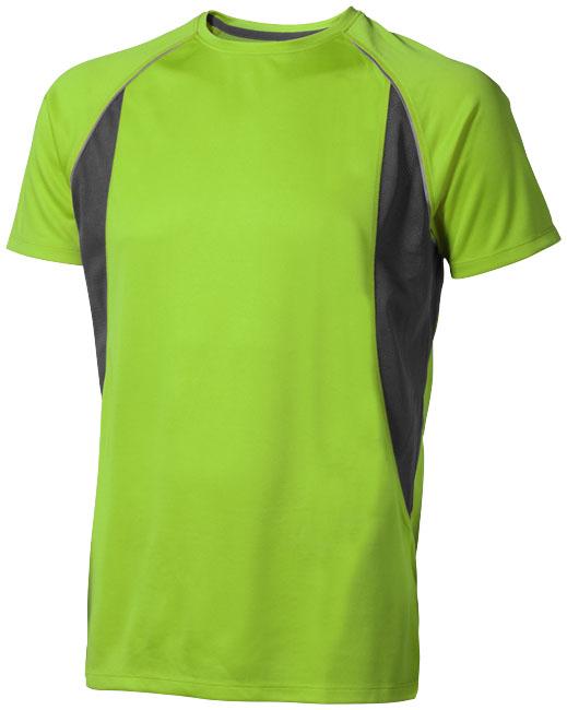 Quebec Coolfit T-shirt äpplegrön ,antracit