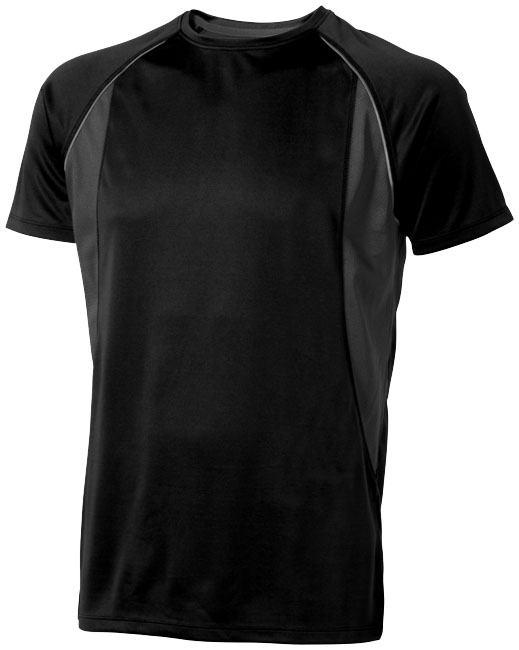 Quebec Coolfit T-shirt svart,antracit