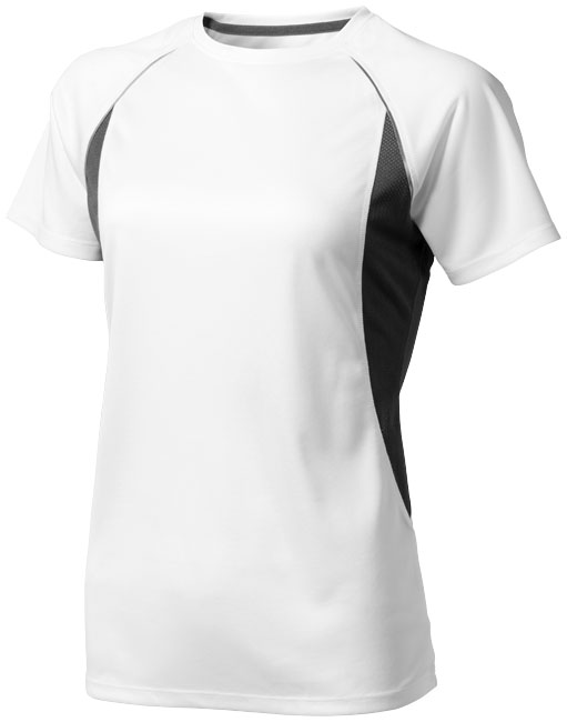 Quebec Ladies Coolfit T-shirt vit,antracit