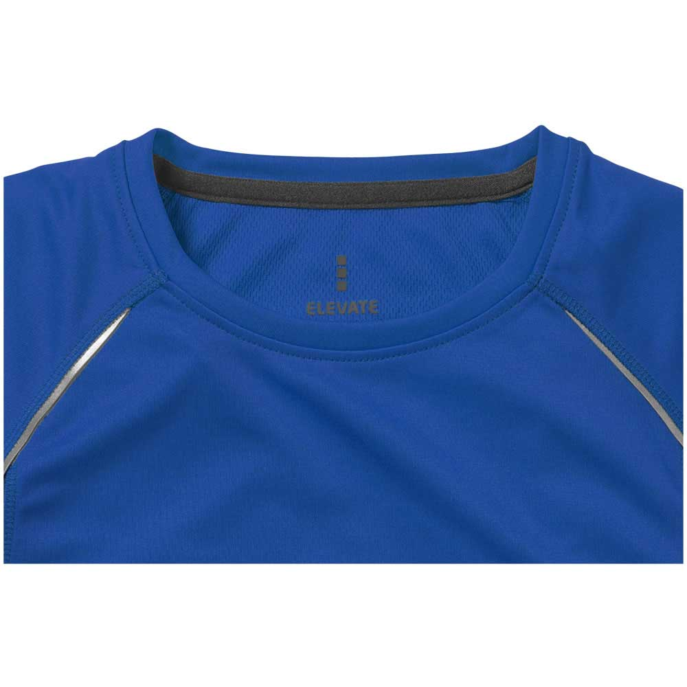 Quebec Ladies Coolfit T-shirt blå,antracit
