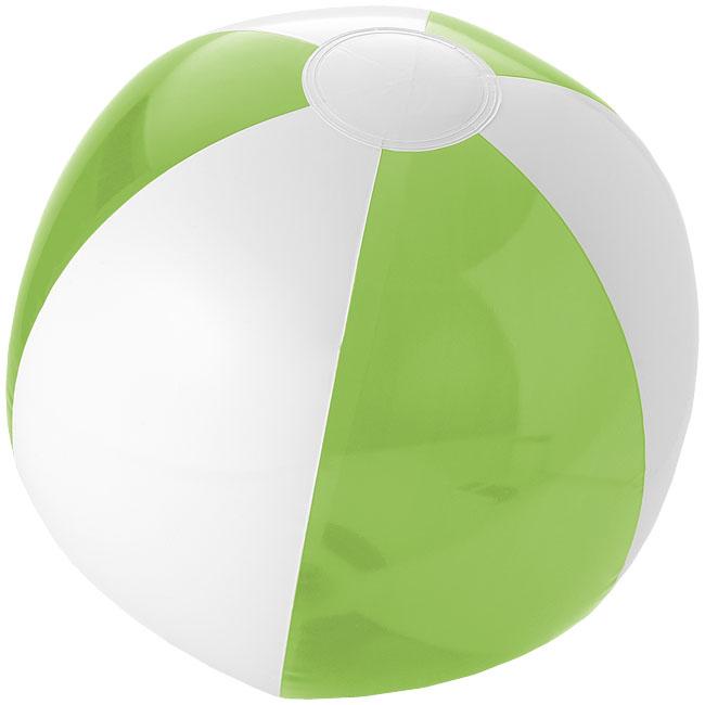 Bondi tvåfärgad badboll Limegrön, Vit