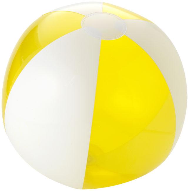 Bondi tvåfärgad badboll Gul, Vit