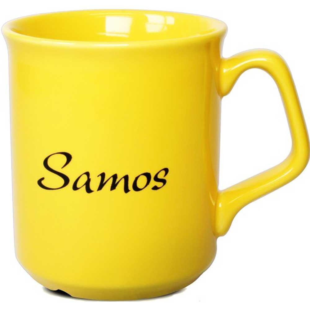 Mugg Samos gul