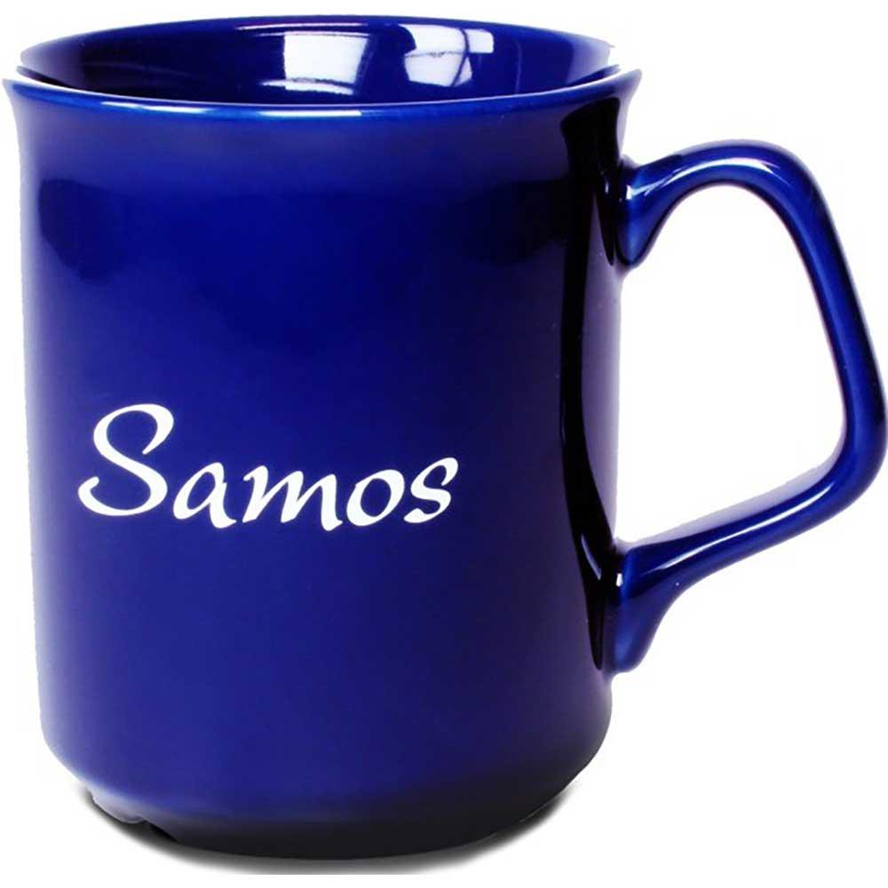 Mugg Samos blå
