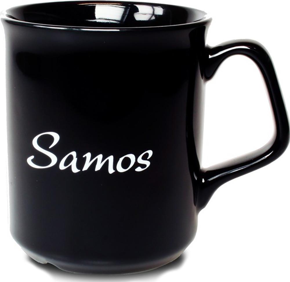 Mugg Samos svart