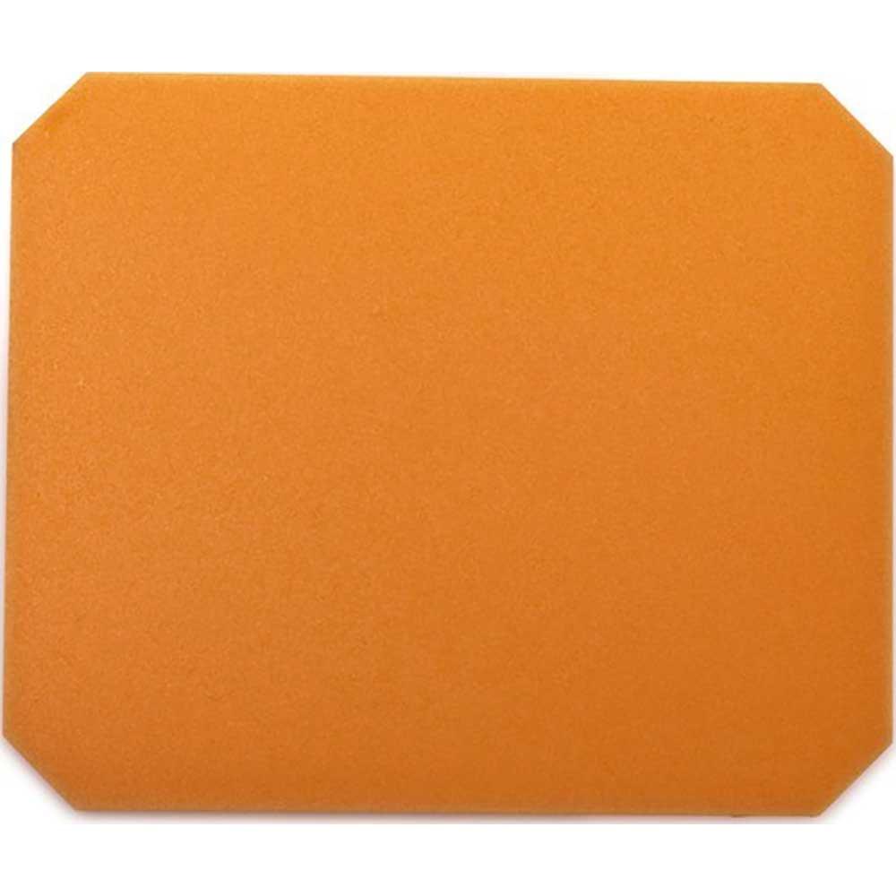 Isskrapa färgad orange