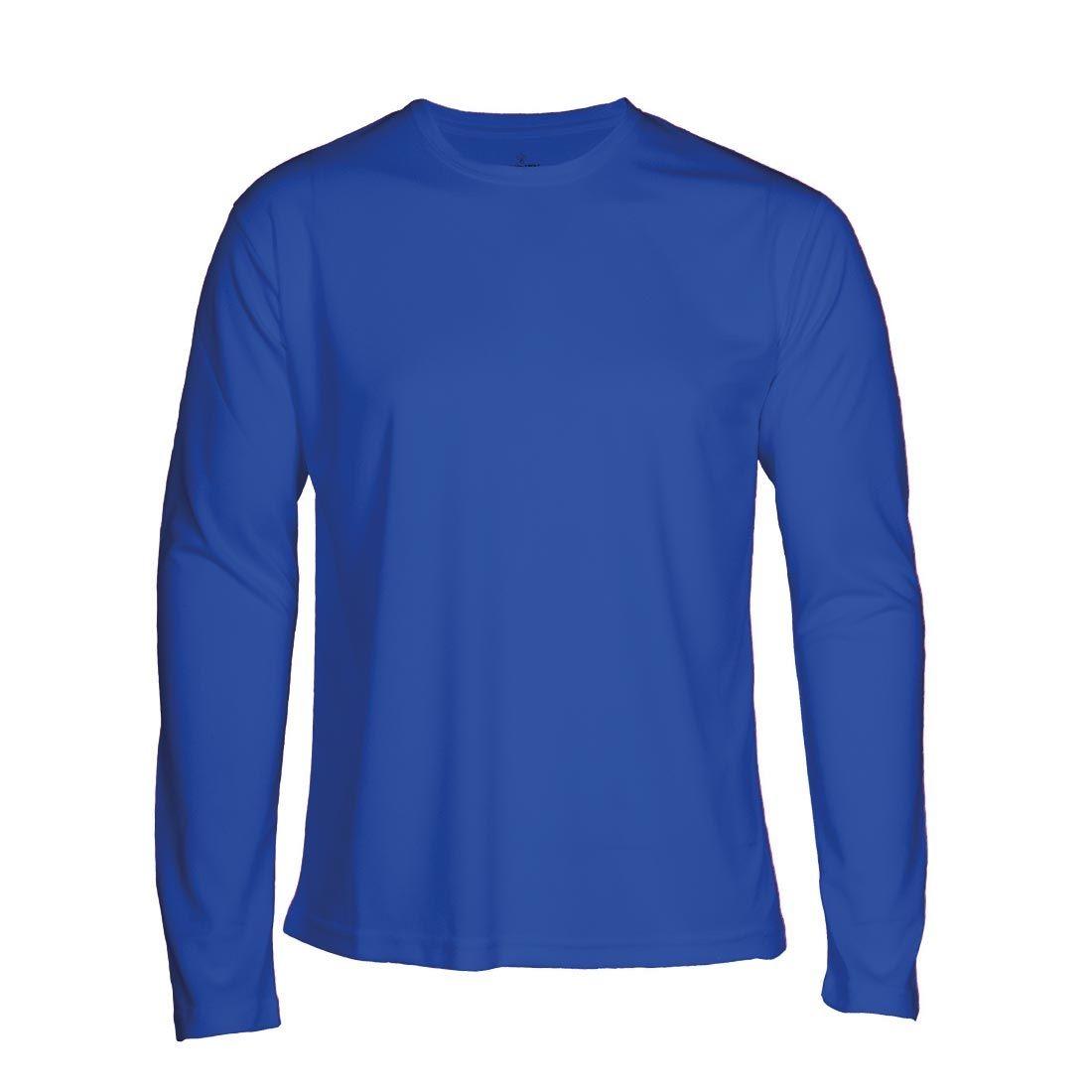 T-shirt Faster L/S royal