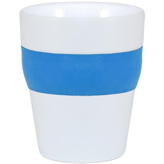 Mugg Molly  vit/blå/vit