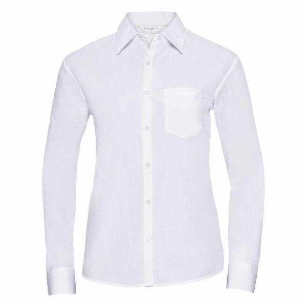 Skjorta Dam Russel Lång ärm white