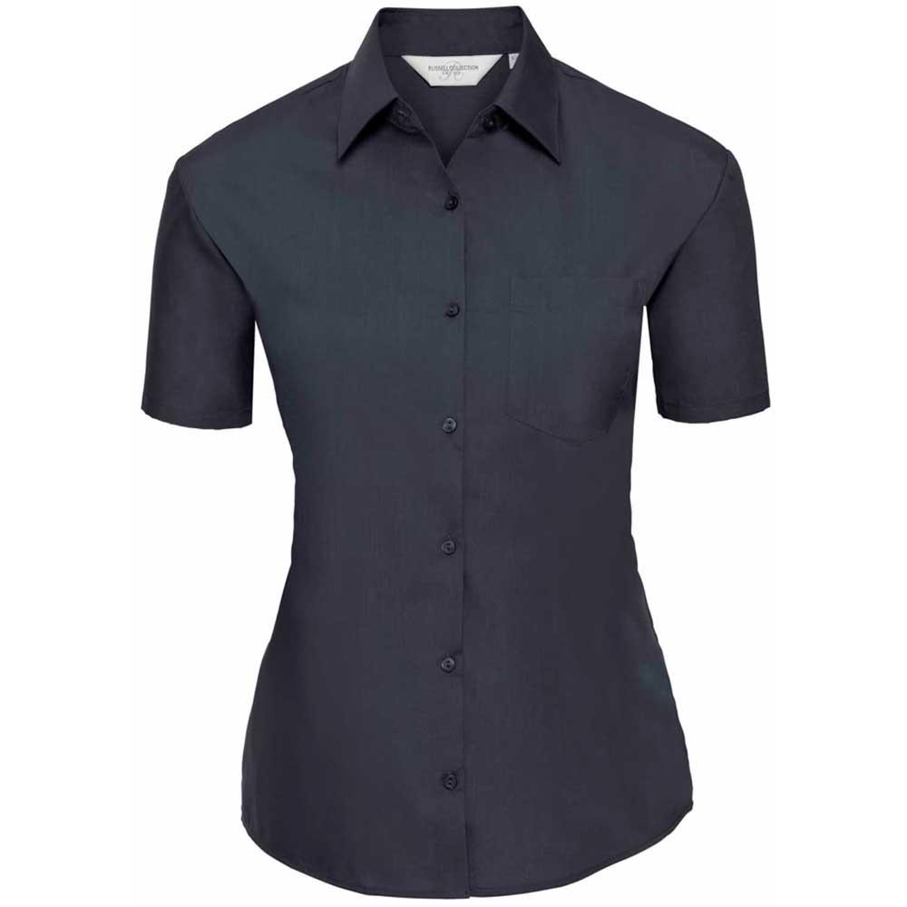 Skjorta Dam Russel kort ärm french navy