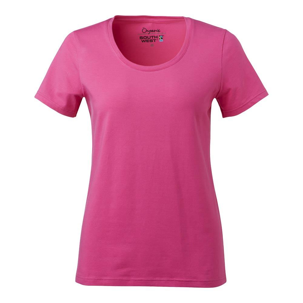 T-Shirt Nora Dam GOTS cerise