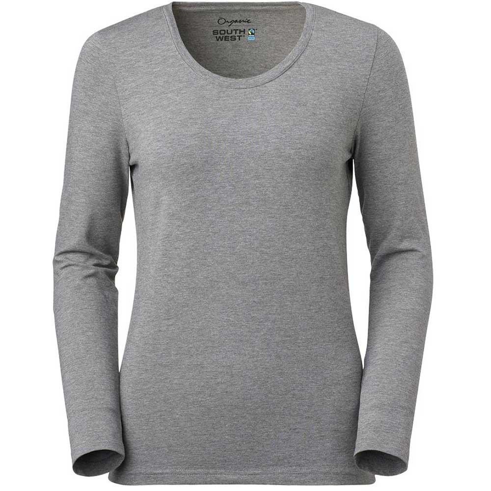 T-shirt Lily L/S Stretch Dam GOTS navy
