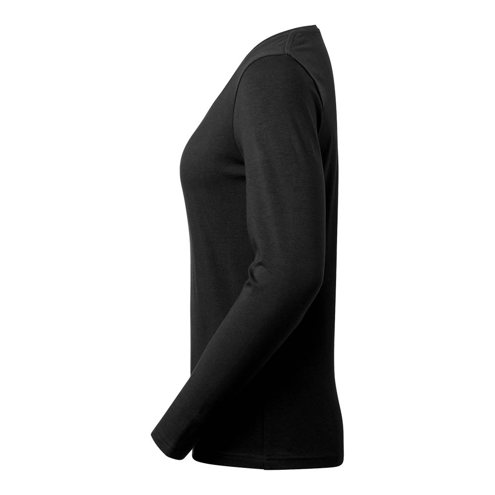 T-shirt Lily L/S Stretch Dam GOTS black