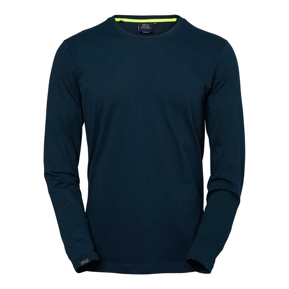T-shirt Vermont L/S marin