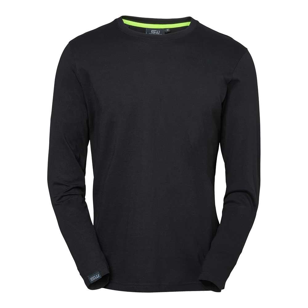 T-shirt Vermont L/S svart