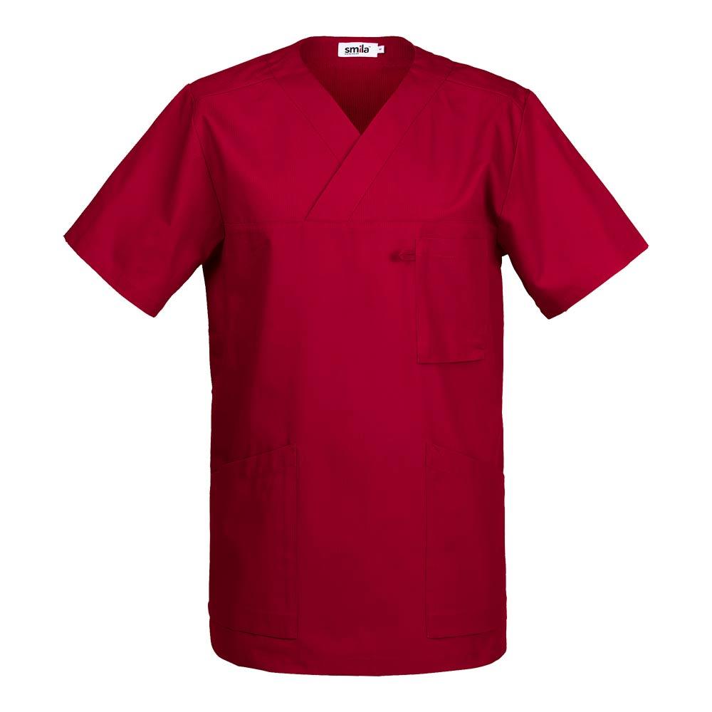 Smila Tunic/Blouse Astor V-Tunic dark red