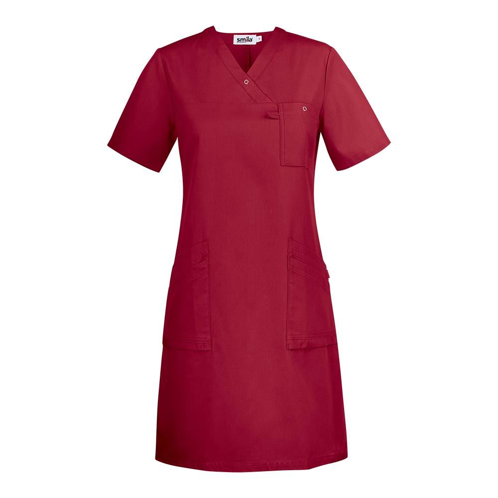 Smila Dress Adina V-Dress W dark red