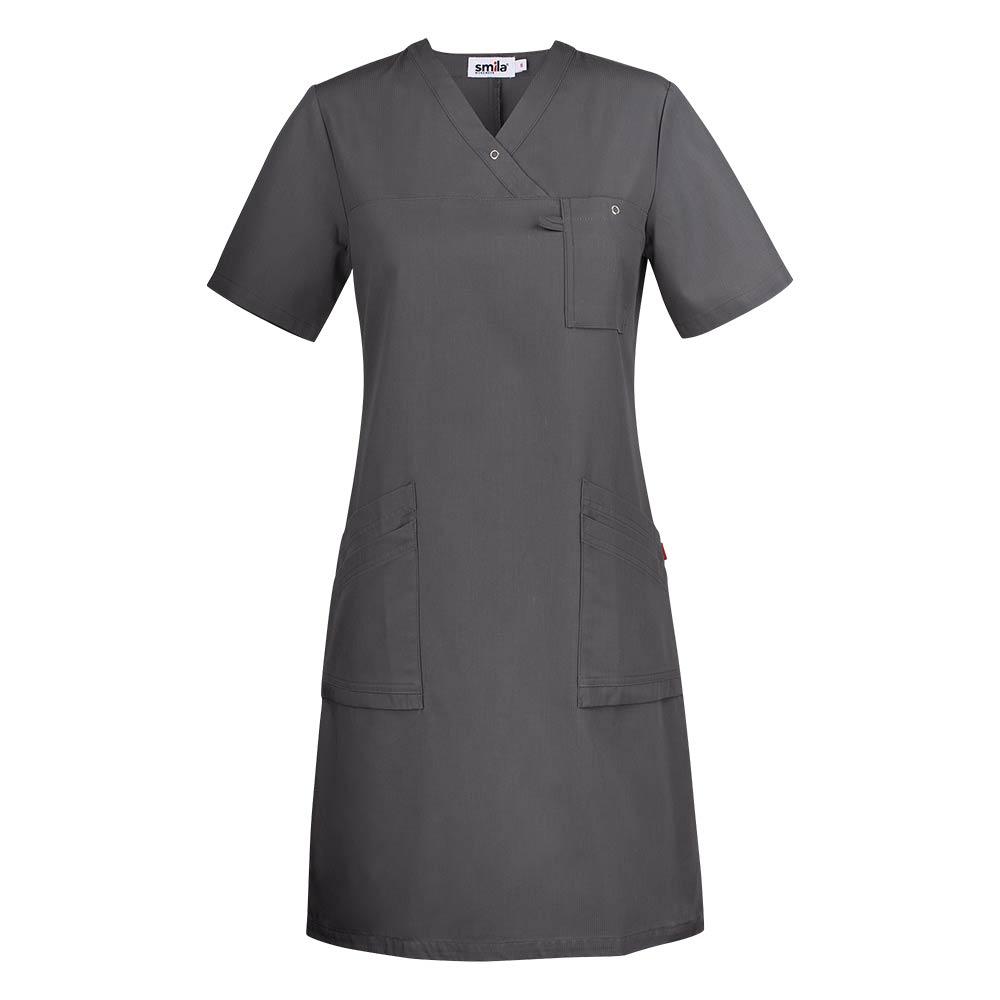 Smila Dress Adina V-Dress W graphite