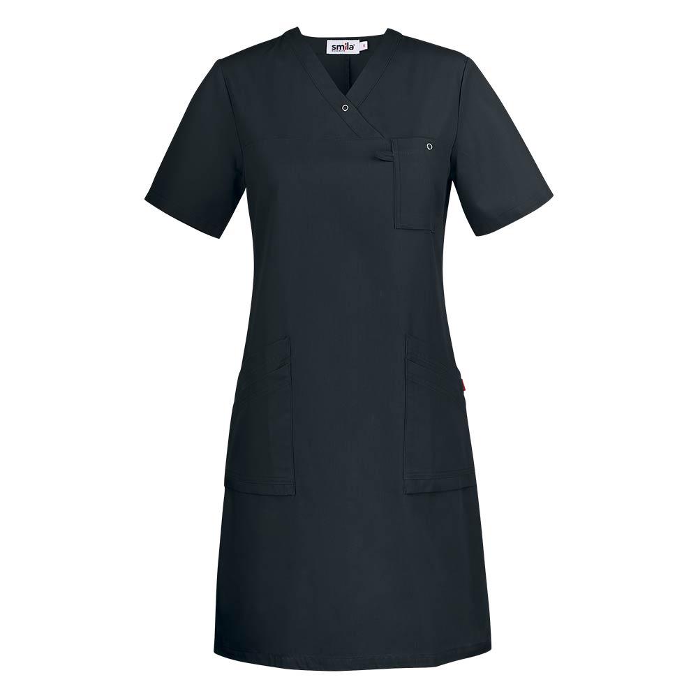 Smila Dress Adina V-Dress W svart