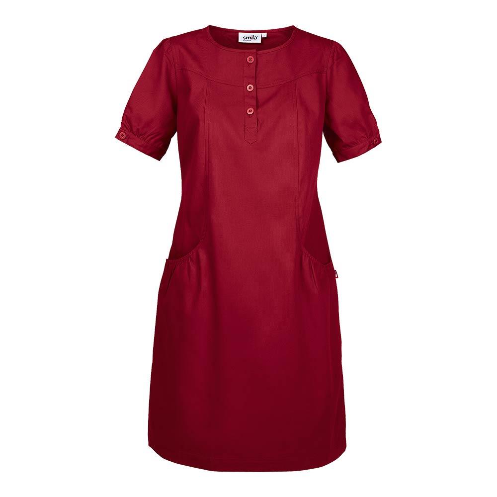 Smila Dress Asta Dress W dark red