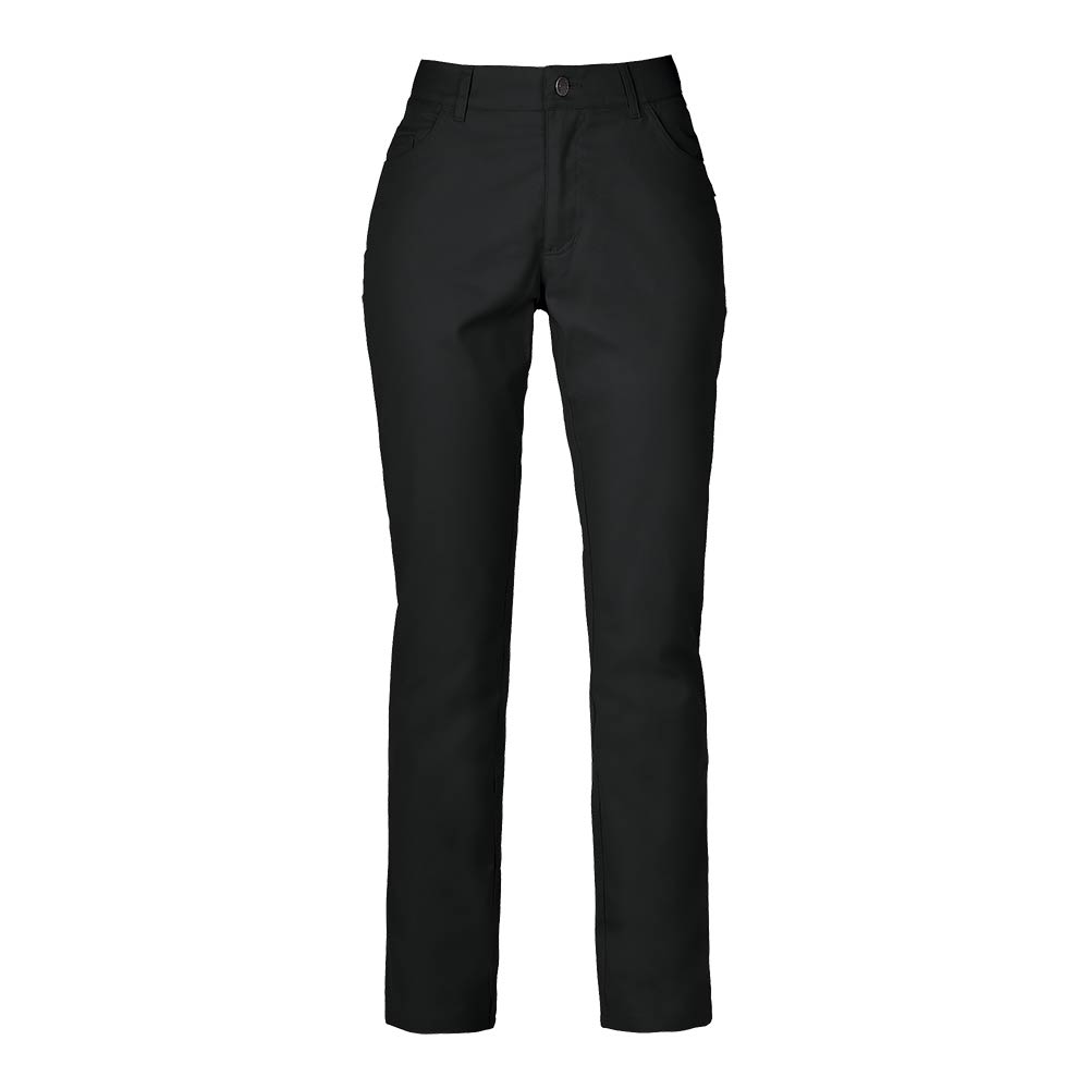Smila Trousers Nova Trs Slim W svart