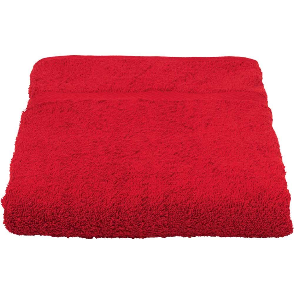 Baypoint Towel 50x70 röd